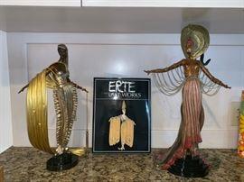 Erte Bronzes