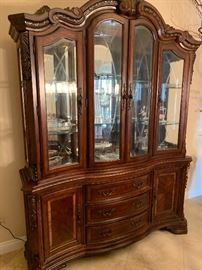 china cabinet sold as set only