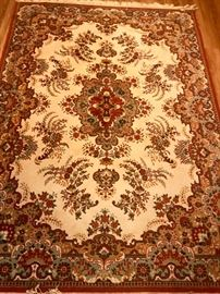 large Belgian wool rug