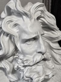 large Zeus sculpture