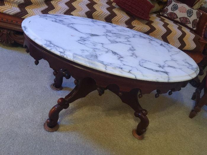Italian marble coffee tables