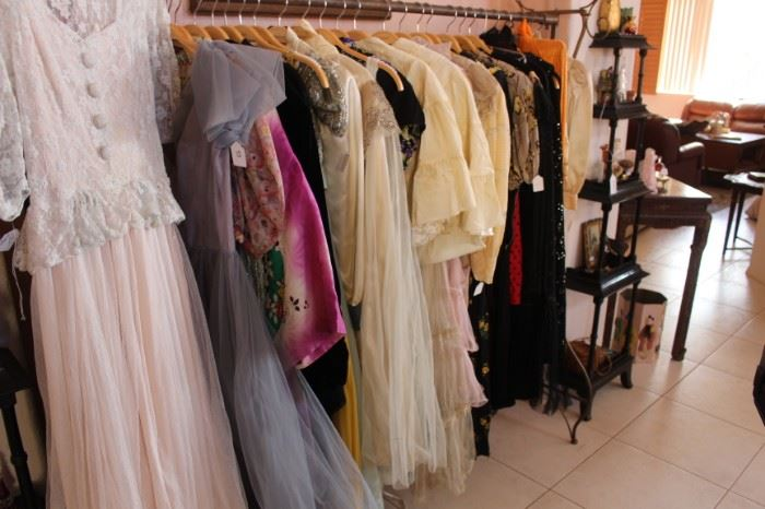 Vintage and antique clothing.