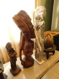 art and sculptures