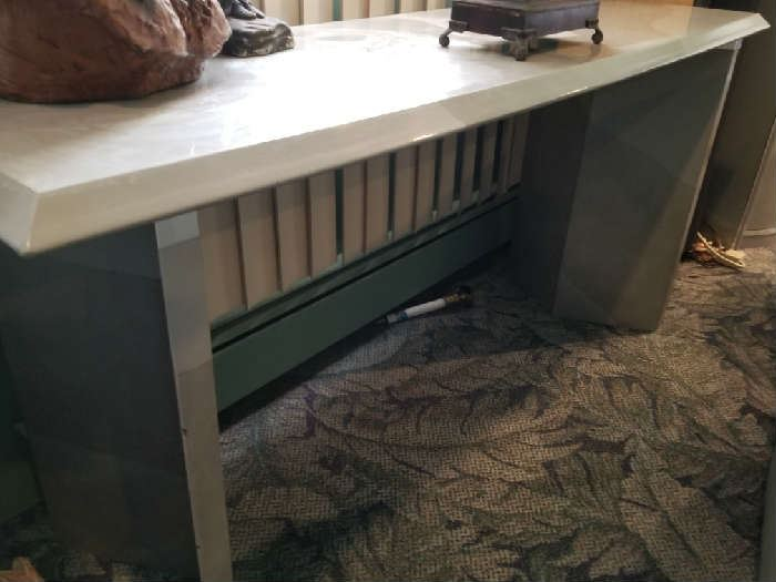 Formica sofa table