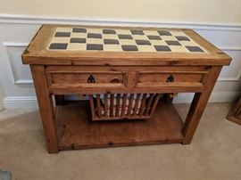 buffet desk game table