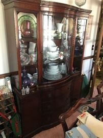 Antique China Hutch $ 388.00