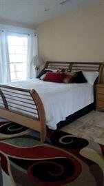 King size bed & mattress