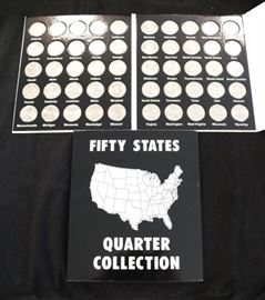 Fifty states quarter collection