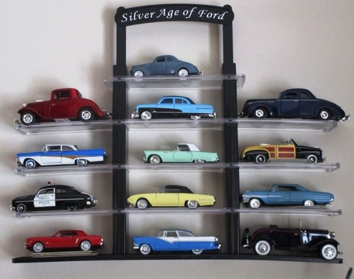 Collection die cast metal model car collection