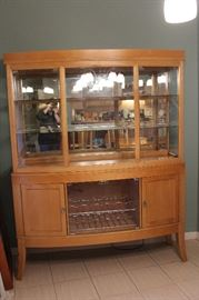 Lovely Blond China Cabinet