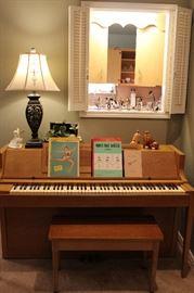 Acrosonic Piano With Bench
