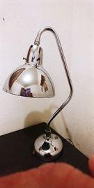 Vintage Apollo Electric Chrome Lamp