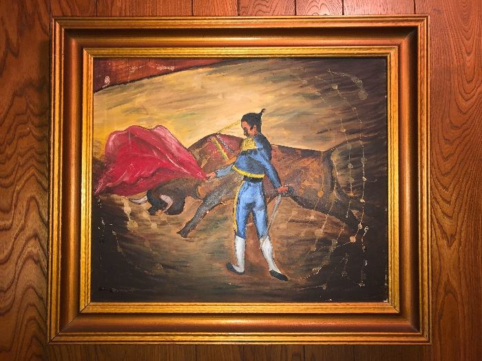 Matador Painting