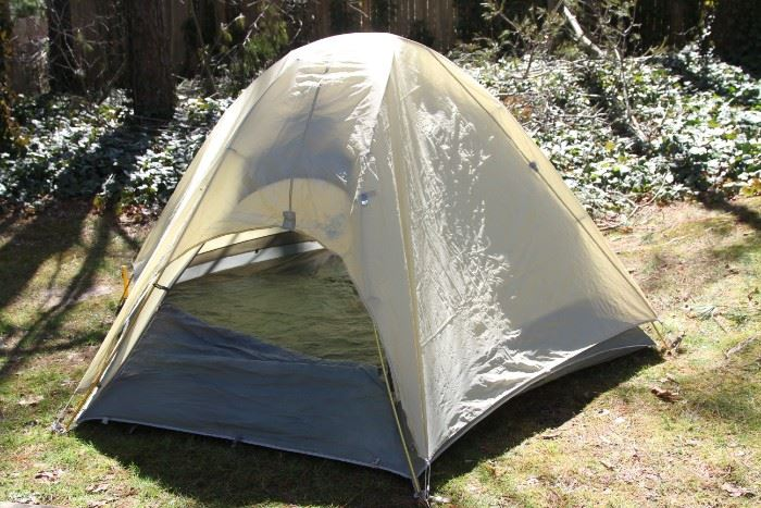 REI Mountain Hut 2 person tent with fly.