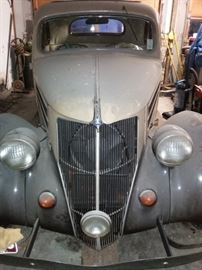 1936 Ford V8 Coupe Automobile 5-Window, All Steel