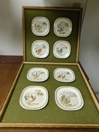 Collector Plates Framed