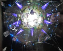Hand made kaleidoscope (by the owner)