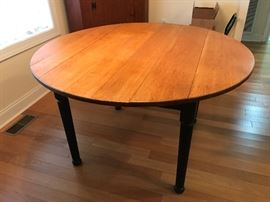 Wood Round Table $ 98.00