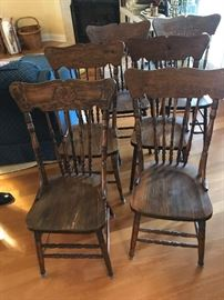 Antique Chairs $ 62.00 each (6 available)