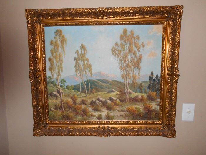 Detailed vintage frame
