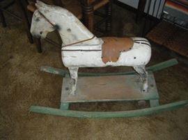 OLD ROCKING HORSE