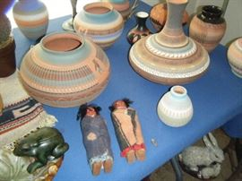 LOTS AND LOTS OF SOUTHWESTERN  POTTERY