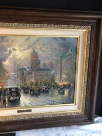 "New York, Fifth Avenue, Kinkaid. 13/140 S/P Canvas (studio proof).18""x27"""