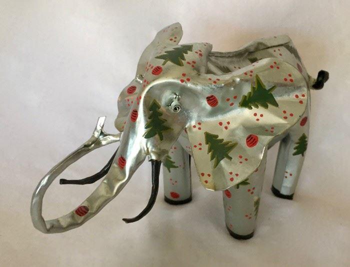 Christmas Elephant