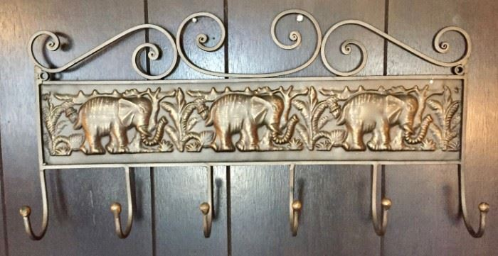 Elephant Coat Rack