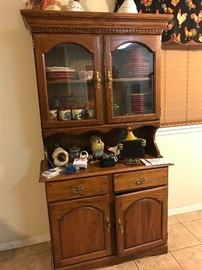 Kitchen hutch or china cabinet