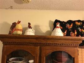 Rooster cookie jars