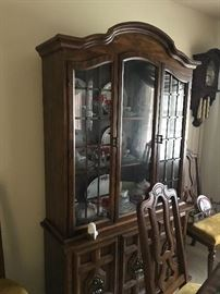 Dining area china cabinet