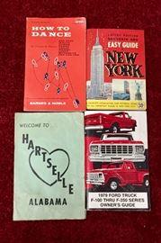 Vintage pamphlets