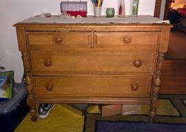 Dresser with matching piece