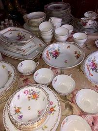 Vintage china & dinnerware