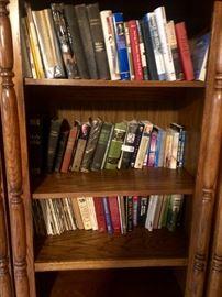 Bookshelves and Books