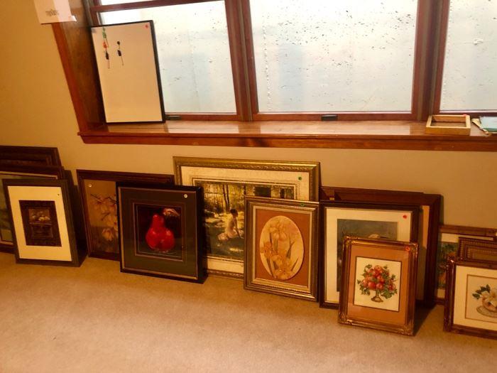 Framed Art Collection