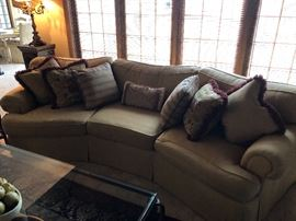 Another angle of the Henredon Sofa.