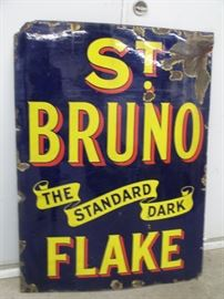 St Bruno Porcelain sign