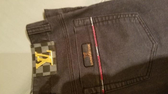 Louis Vuitton men's jeans.....real?