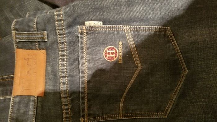 Hermès men's jeans....real?
