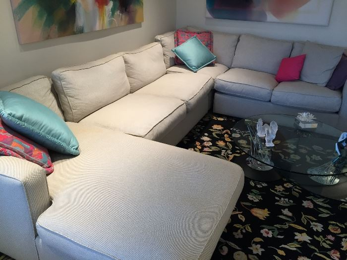 Room & Board Sectional