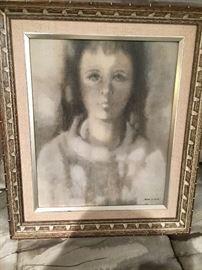 "Irene Fisher Mid Century ""Girl"""