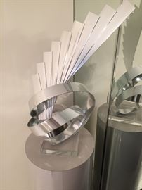 Signed Limited Dan Murphy Metal Sculpture