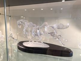 "Swarovski ""The Wild Horses"" Signed and limited"
