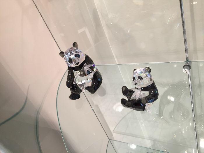 Swarovski Pandas
