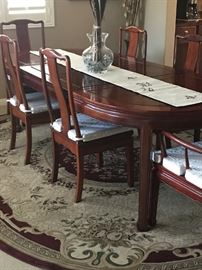 Imported Rosewood Dining Table
