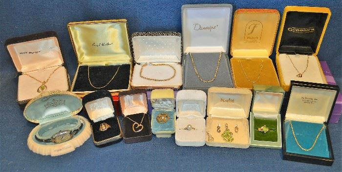 GOLD Rings, Necklaces, Bracelets, Pendants