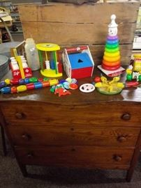 FISHER PRICE AND PLAYSKOOL TOYS
