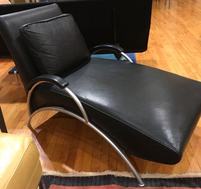 Thayer Coggin, Milo Baughman limited edition  chaise lounge, 1/500